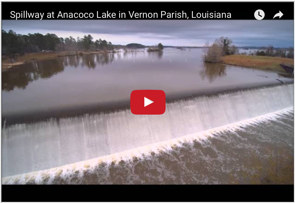 Fun detour to Anacoco Lake Spillway… plus lessons in history and challenges to explore more