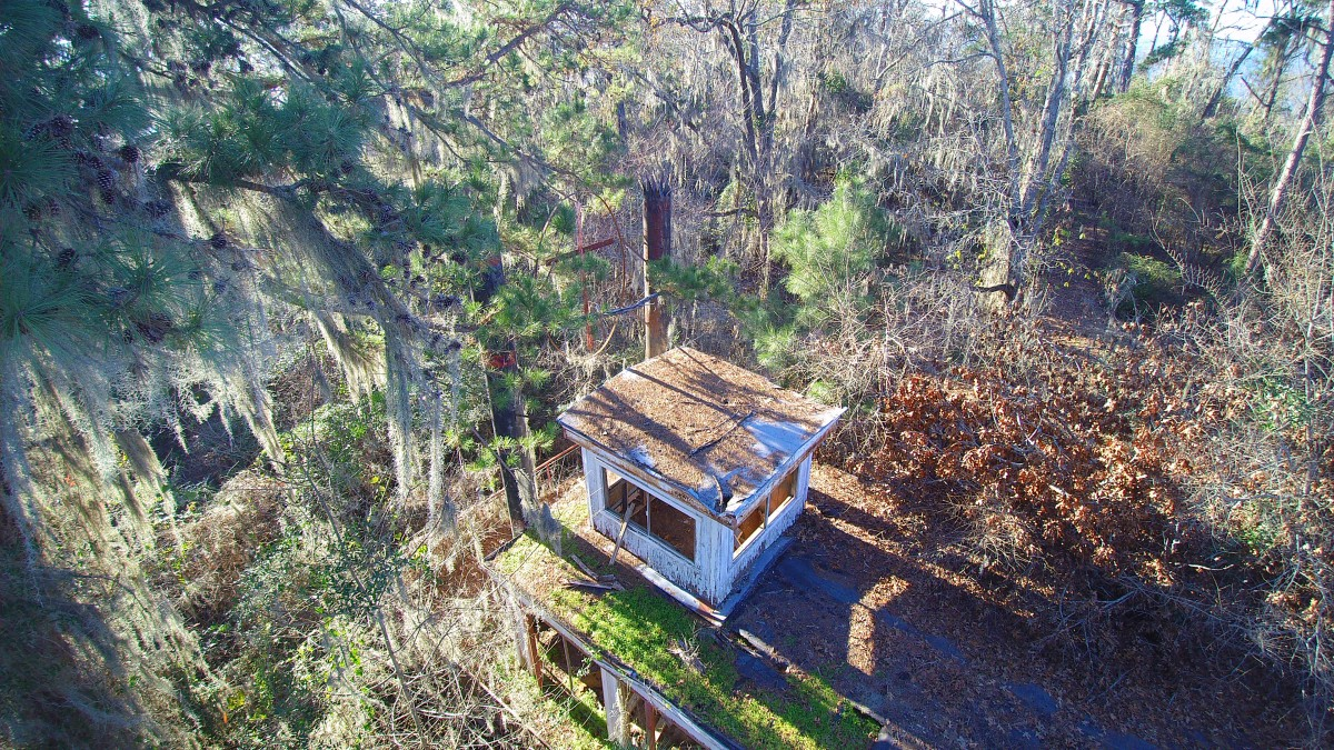 Tom Sawyer Chapel:  Once upon a time in a Sabine Parish forest