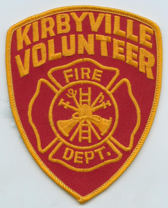 Kirbyville VFD patch, from Texas Portal to History