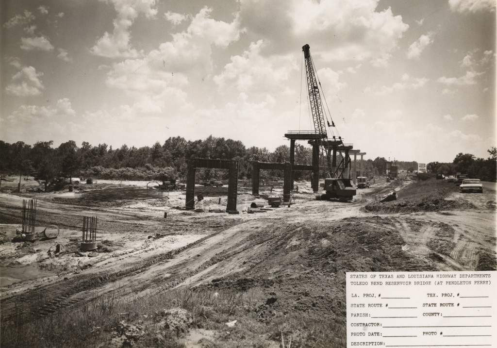 This photo looks like it was taken from the Louisiana side of the Sabine River.  Not sure though.