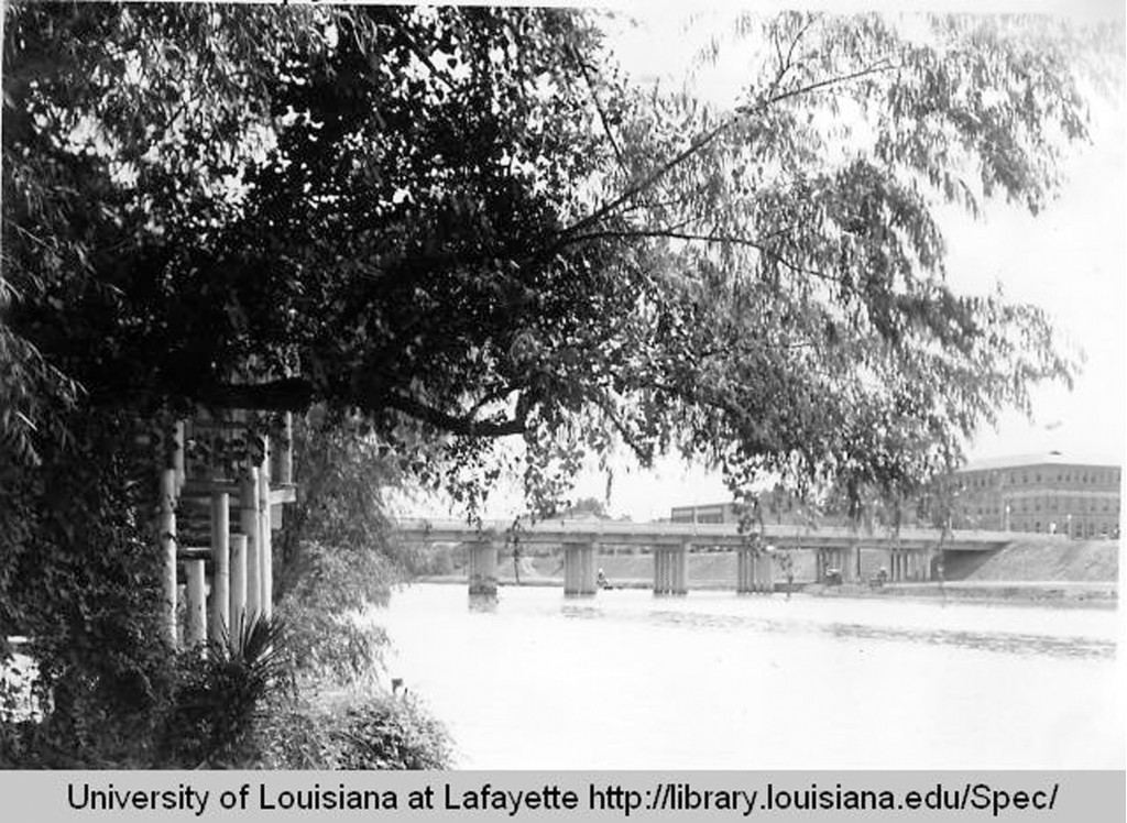 1934- This particular photo is from Southwestern Louisiana Institute- Cane River Bridge, Natchitoches, Louisiana August 2, 1934.