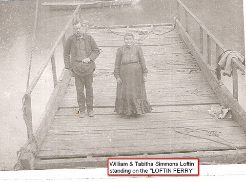 Near Evans, Louisiana., Loftin Ferry. From Lutherans Online.