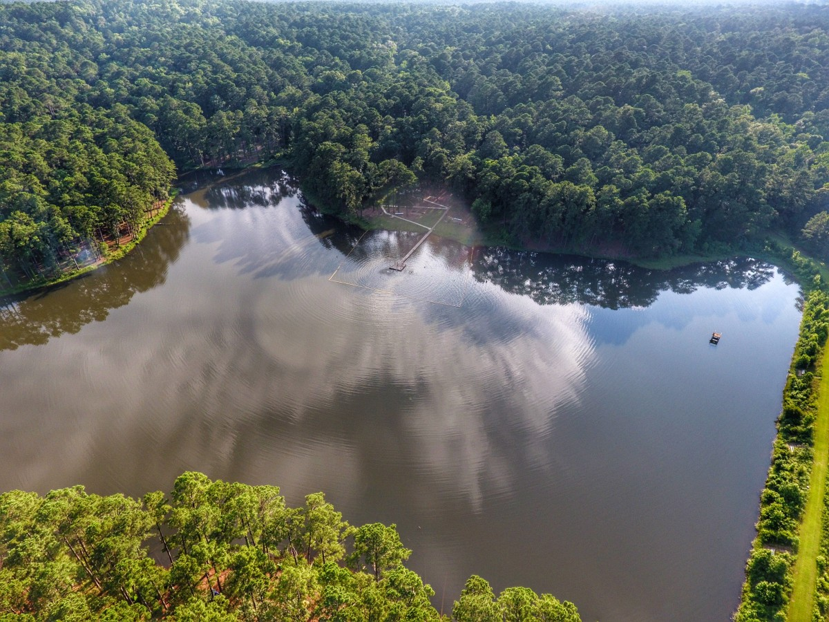 Red Hills Lake, of Sabine County, Texas