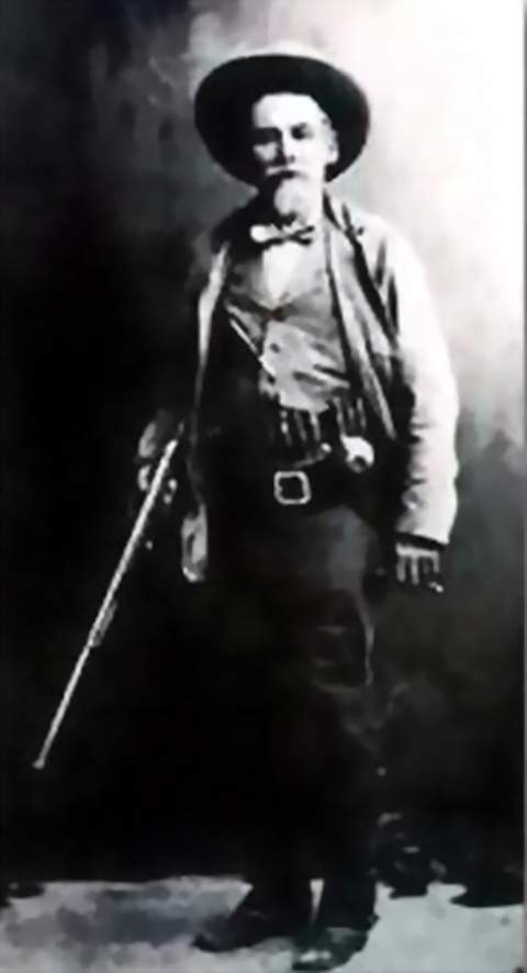 Slaughter, with his rifle