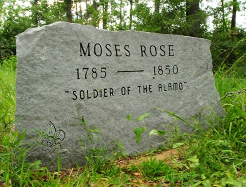 Gravesite of Moses Rose