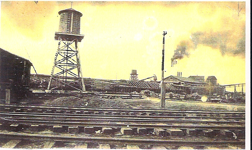 Peavy Wilson Lumber Company mill located at Peason, La. (Robertson Collection)
